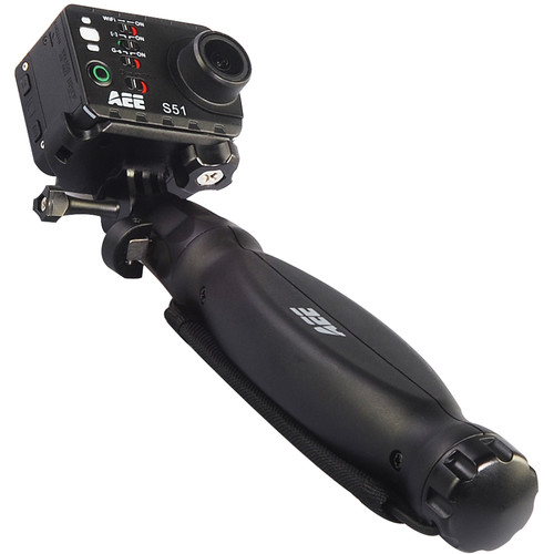 """AEE ZS04 9"""" Compact Handle Mount for S Series and MD10 Action Cameras"""