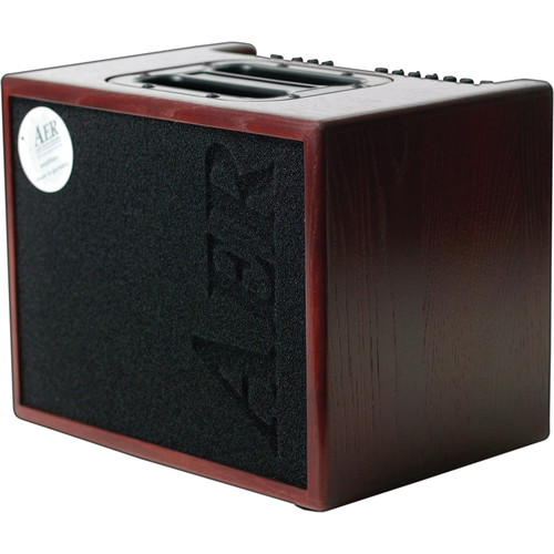 AER Compact 60/3 Twin-Channel Acoustic Amplifier (Mahogany)
