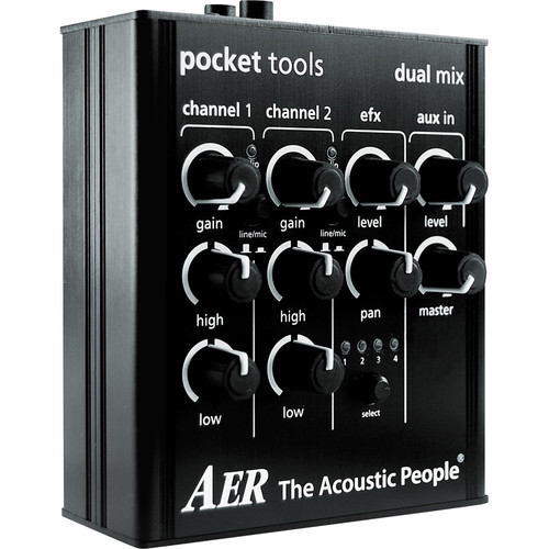 AER Pocket Tools 2-Channel Dual Mix Preamplifier