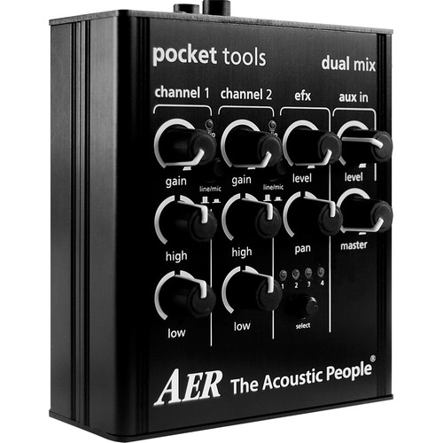 AER Dual Mix Audio Preamp