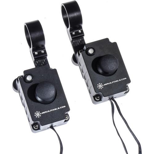 Aerialpixels Proportional Dual-Rate 3-Axis Thumb Joystick Controller Pair for DJI Ronin-MX Gimbal