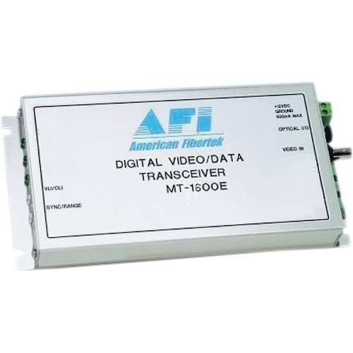 American Fibertek - AFI MT1600E Digital Video / Data Transceiver