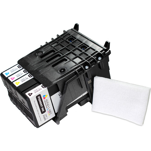 Afinia L501 Printhead with Full Set of Pigment-Based Inks (Cyan, Magenta, Yellow & Black)