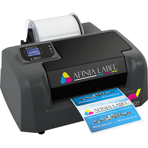 Afinia Afinia L501 Label Printer Duo Ink Pigment and Dye Bundle