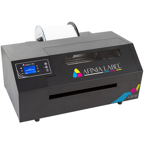 Afinia L502 Industrial Duo Ink Color Label Printer with Dye-Based Inks