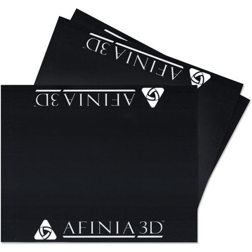 """Afinia 4.7 x 4.7"""" BuildTak Platform Surface (3-Pack)"""