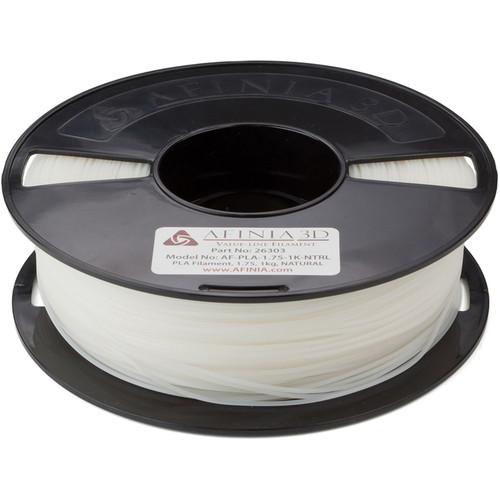 Afinia 1.75mm Value-Line PLA Filament for H-Series 3D Printers (2.2 lb, Natural)