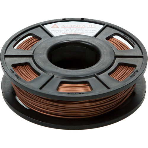 Afinia 1.75mm Specialty PLA Filament for H-Series 3D Printers (Infused Copper, 300g)