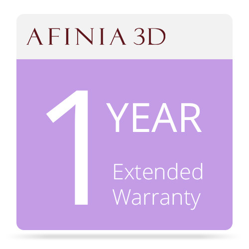 Afinia 1-Year Extended Warranty for H480 3D Printer