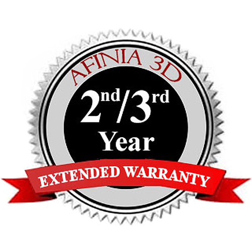 Afinia Extended Warranty for H400 3D Printer (2nd & 3rd Years)