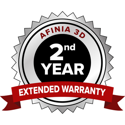 Afinia 2nd-Year Extended Warranty for H+1 3D Printer
