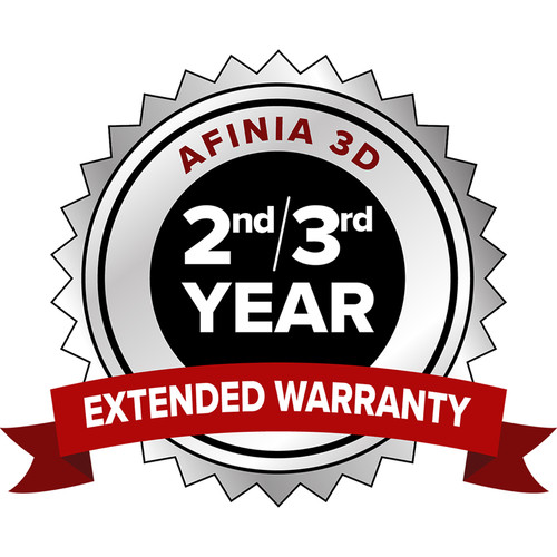 Afinia 2 & 3 Year Extended Warranty for H+1 3D Printer
