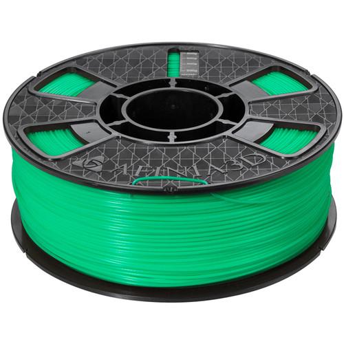 Afinia Premium Plus 1.75mm ABS Filament (2.2 lb, Green)