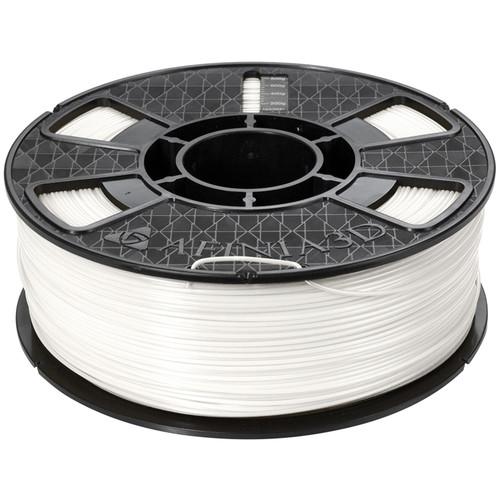 Afinia Premium Plus 1.75mm ABS Filament (2.2 lb, White)