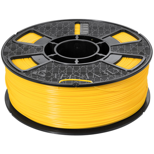 Afinia Premium Plus 1.75mm ABS Filament (2.2 lb, Yellow)
