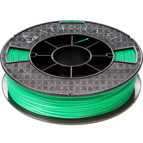 Afinia 1.75mm ABS Premium Plus Filament for H800, H480, & H479 3D Printers (500g, Green)