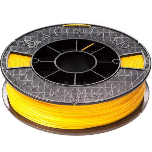 Afinia 1.75mm ABS Premium Plus Filament for H800, H480, & H479 3D Printers (500g, Yellow)