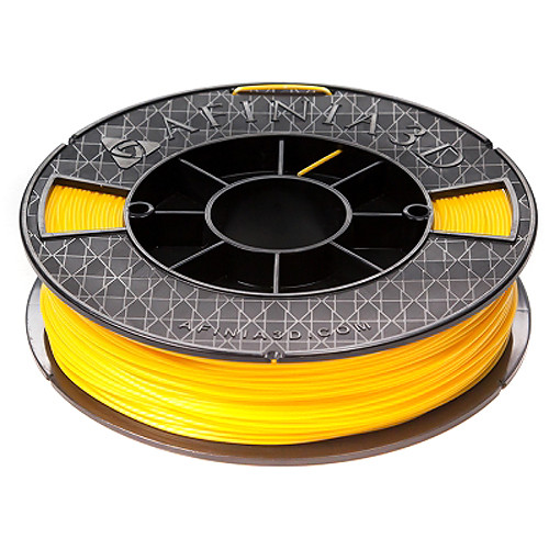 Afinia 1.75mm ABS Premium Filament 2-Pack for H-Series 3D Printers (2 x 500g, Yellow)
