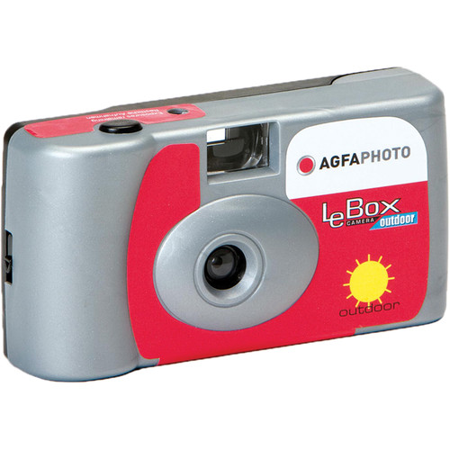 AgfaPhoto LeBox Outdoor 35mm Disposable Camera (27 Exposure)