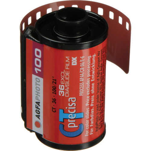 AgfaPhoto CTprecisa 100 Color Transparency Film (35mm Roll Film, 36 Exposures)