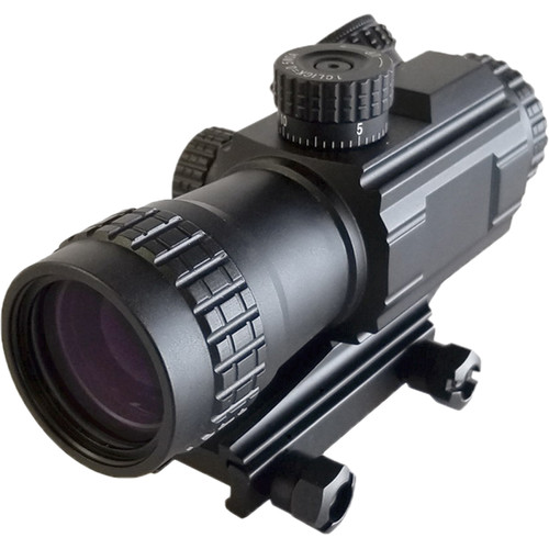 AGM 430PS 4x30 Professional Prism Riflescope (Red/Green Illuminated Reticle)