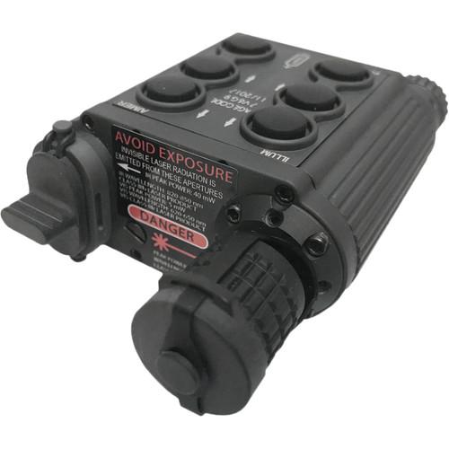 AGM RMSAL Visible Red-Green/IR Laser Sight with IR Illuminator (Black)