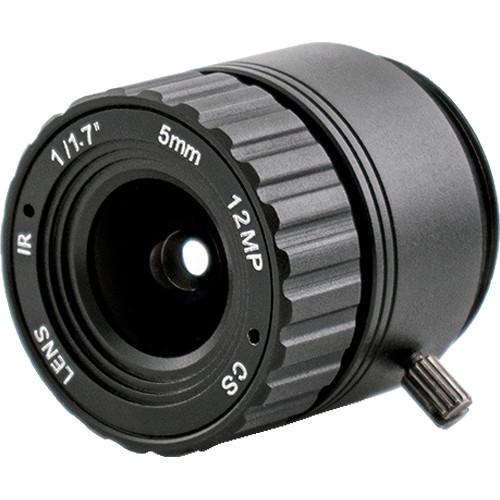AIDA Imaging CS4K-5.0F 5mm HFOV 12 Mega Pixel CS Mount Lens