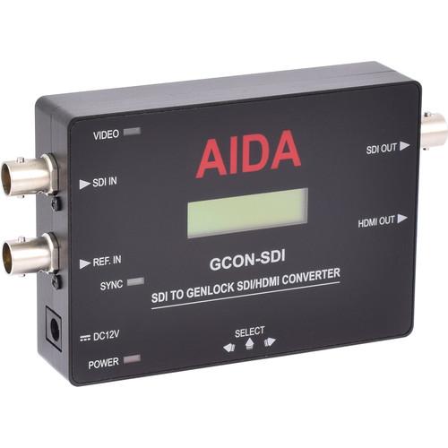 AIDA Imaging SDI to Genlock SDI/HDMI Converter