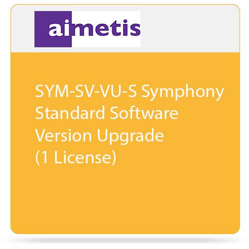 aimetis SYM-SV-VU-S Symphony Standard Software Version Upgrade (1 License)