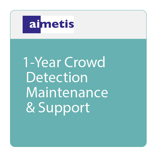 aimetis 1-Year Crowd Detection Maintenance & Support