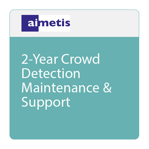aimetis 2-Year Crowd Detection Maintenance & Support