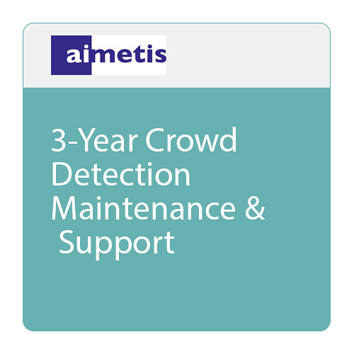 aimetis 3-Year Crowd Detection Maintenance & Support