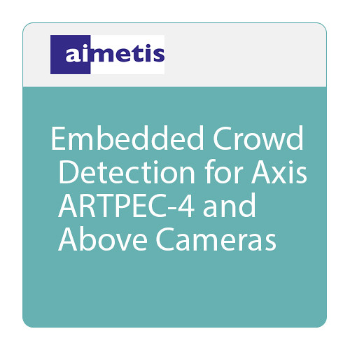 aimetis AIM-AX-CD Embedded Crowd Detection for ARTPEC-4 and Above Axis Cameras