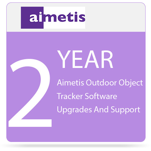 aimetis 2-Year Outdoor Object Tracker Software Upgrades and Support for Select Axis Cameras