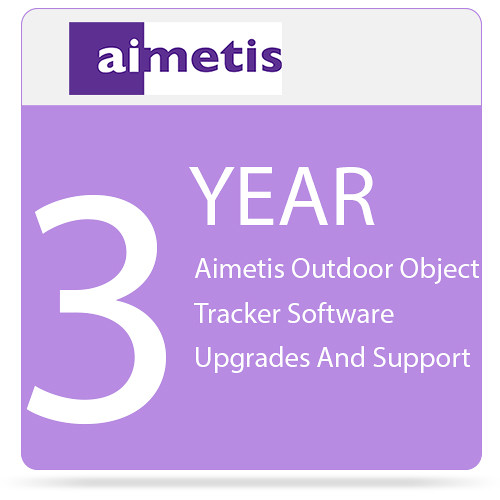 aimetis 3-Year Outdoor Object Tracker Software Upgrades and Support for Select Axis Cameras