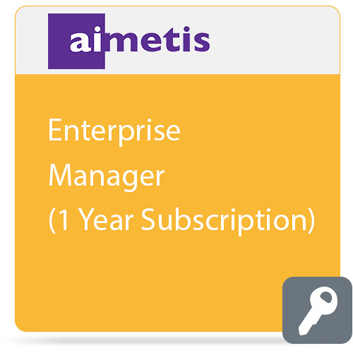 aimetis Enterprise Manager (1-Year Subscription)