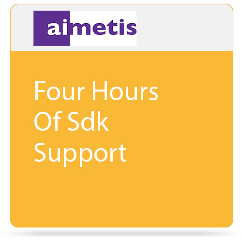 aimetis Four Hours of SDK Support