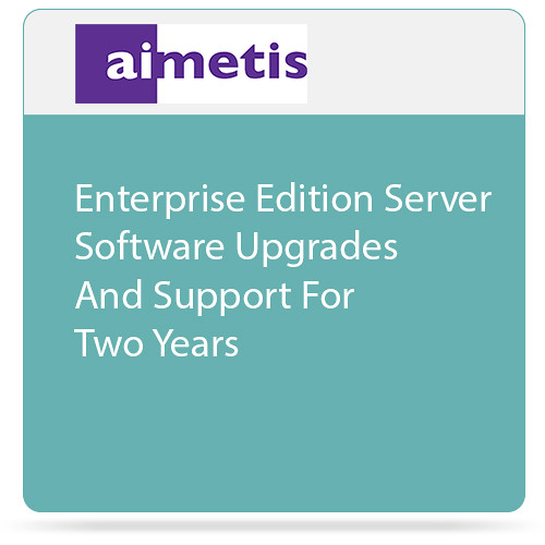 aimetis Symphony 7 Enterprise Edition Server Software Upgrades and Support for Two Years