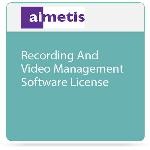 aimetis Symphony 7 Recording and Video Management Software License (Professional)