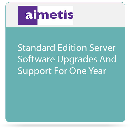 aimetis Symphony 7 Standard Edition Server Software Upgrades and Support for One Year