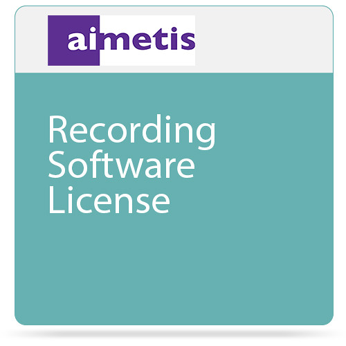aimetis Symphony 7 Recording Software License (Standard)