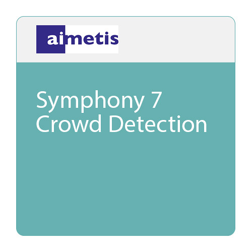 aimetis Symphony 7 Crowd Detection Software