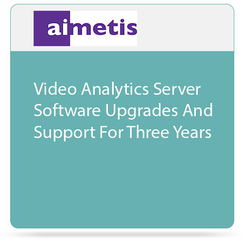 aimetis Symphony 7 Video Analytics Server Software Upgrades and Support for Three Years