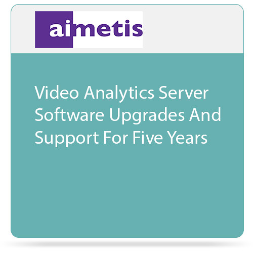 aimetis Symphony 7 Video Analytics Server Software Upgrades and Support for Five Years