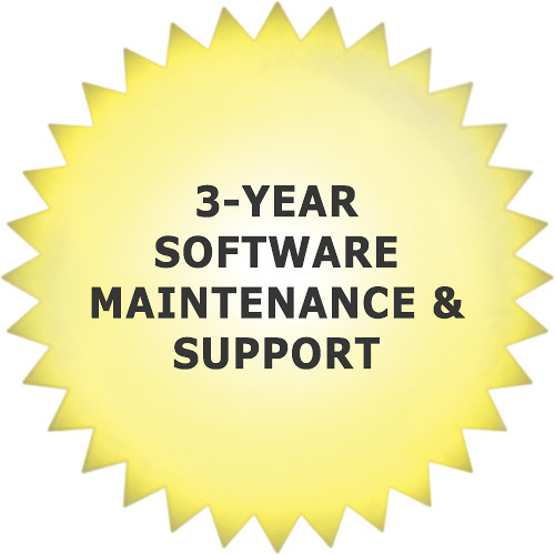 aimetis 3-Year Software Maintenance & Support for Symphony Web Edition VMS
