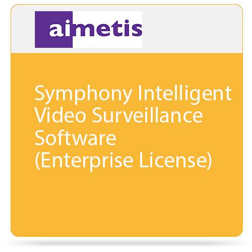 aimetis Symphony Intelligent Video Surveillance Software (Enterprise License)