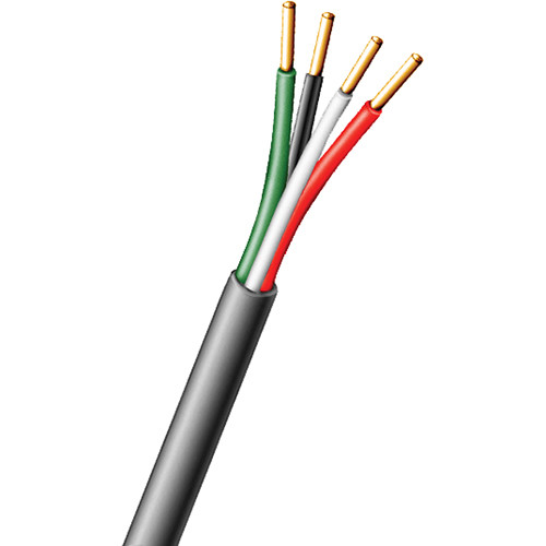 Aiphone 871804P Four-Conductor Non-Shielded Plenum Wire - For Aiphone Intercom Systems (500')