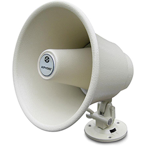 Aiphone AH-108 8Ω 10W Horn Speaker for Intercom, Paging, and Paging/Talkback Systems (Beige)