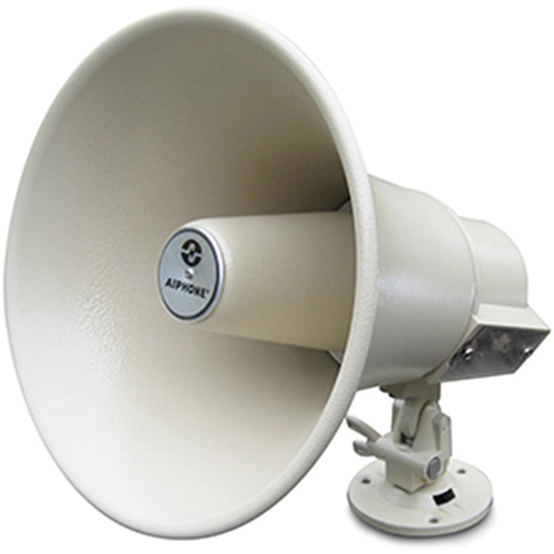 Aiphone AH-16TN 8 16W Horn Speaker with Built-in Transformer for Intercom, Paging and Paging/Talkback Systems (Beige)