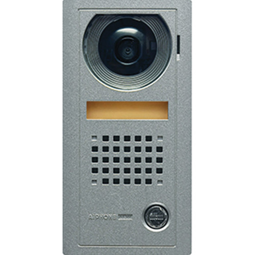 Aiphone AX-DV Vandal-Resistant Surface-Mount Color Video Door Station for AX Series Integratable Audio/Video Security System (Metallic Gray)